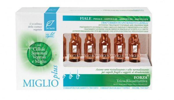 Ampullen zur Vorbeugung von Haarausfall - Miglio Plus