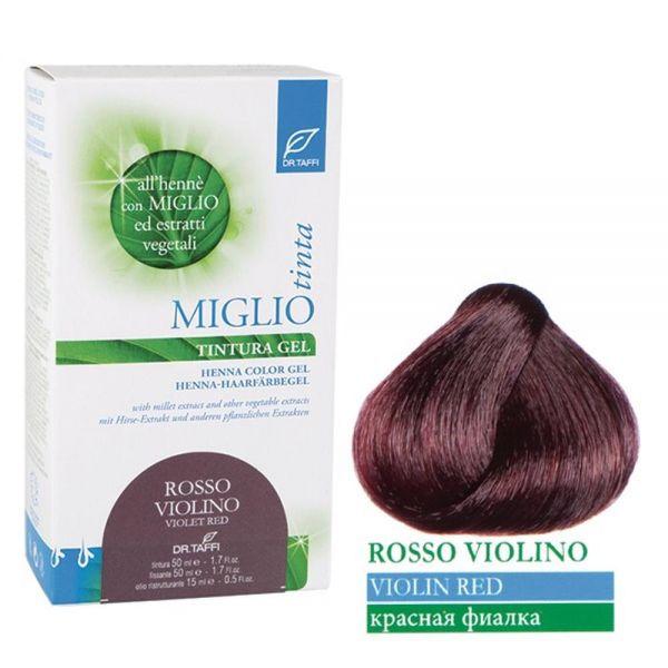 Henna-Haarfarbe Lilarot - Miglio Tinta