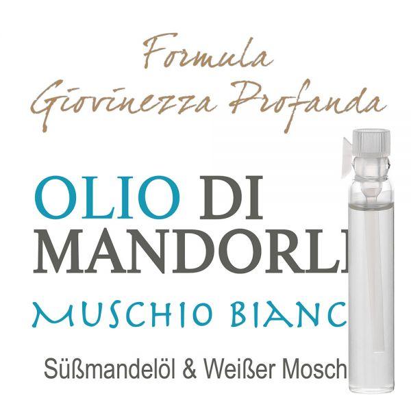 Süssmandelöl & Weisser Moschus - Giovinezza Profonda - Probe 2ml