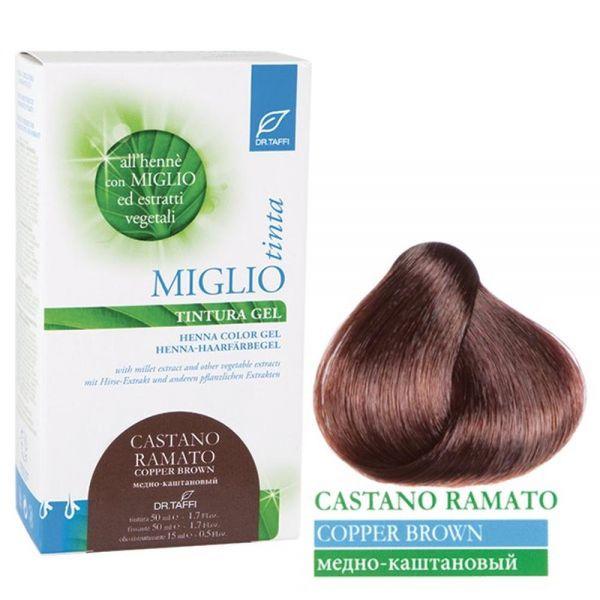 Henna-Haarfarbe Kupferbraun - Miglio Tinta