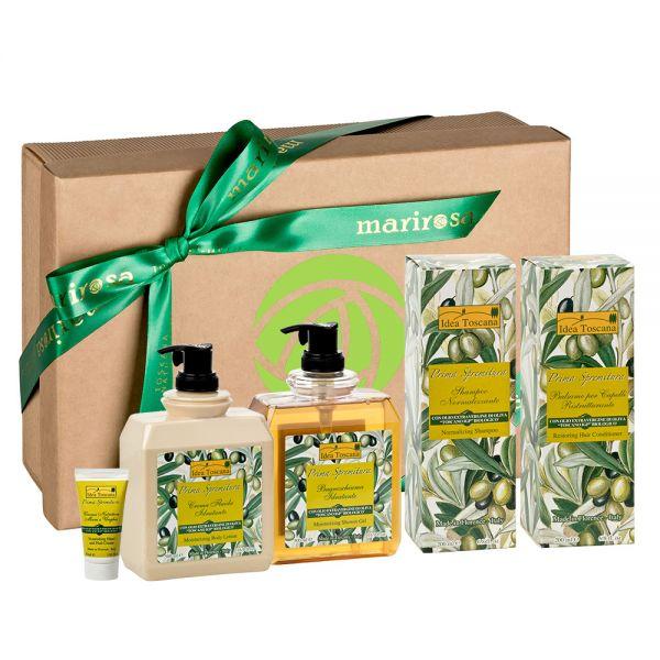 Geschenkbox Körperpflege GOLD Prima Spremitura
