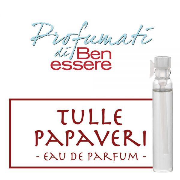 Eau de Parfum Tulle Papaveri - Benessere Classic - Probe 2ml