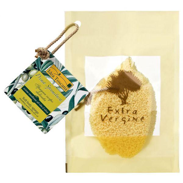 Körperpflegeschwamm mit Olivenöl Prima Spremitura