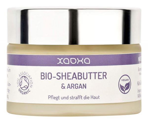 BIO Sheabutter & Argan - Vegane Pflege mit feuchtigkeitsspendendem Arganöl