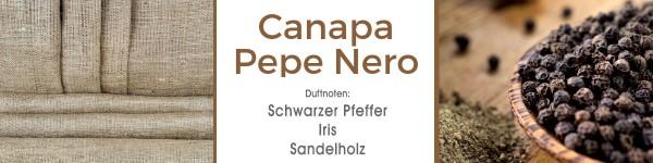 Canapa Pepe Nero