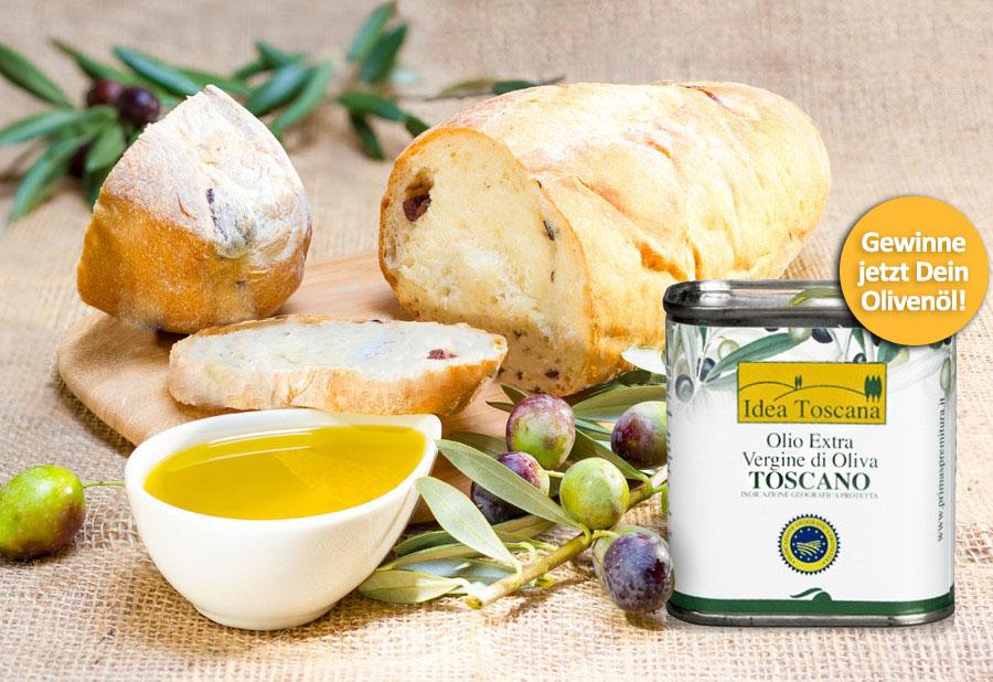 Gewinnspiel Olivenöl