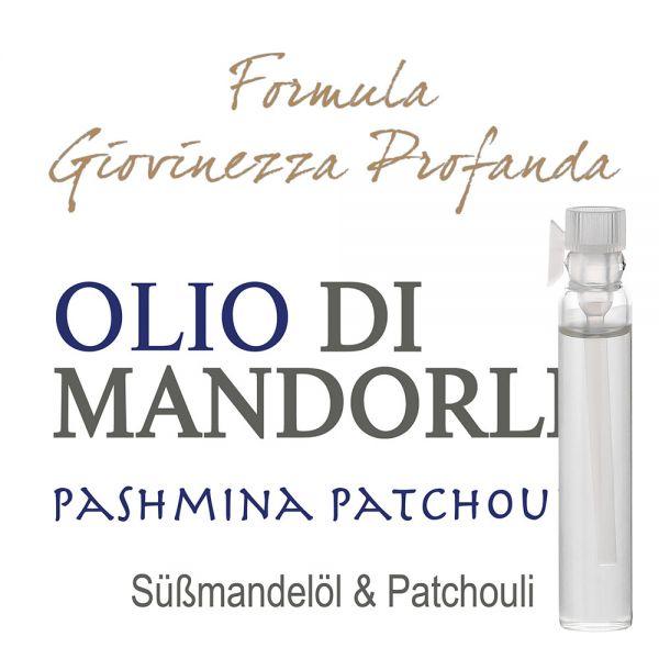 Süssmandelöl »Pashmina Patchouly« - Giovinezza Profonda - Probe 2ml