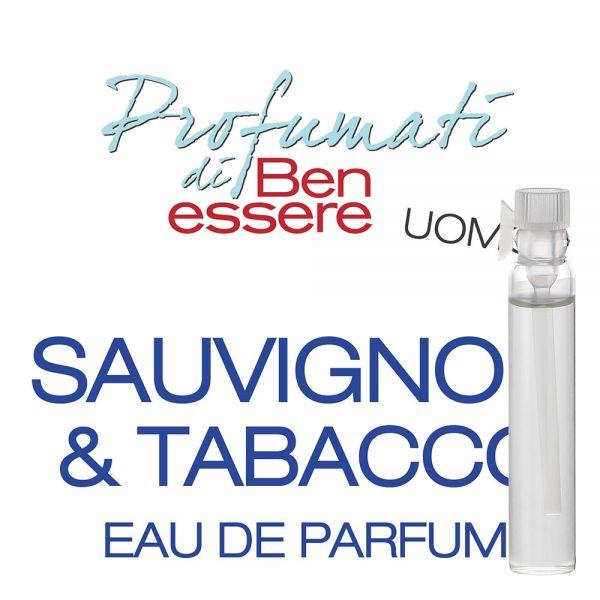 Eau de Parfum »Sauvignon & Tabacco« - Benessere Uomo - Probe 2ml