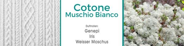 Cotone Muschio Bianco