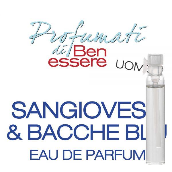 Eau de Parfum »Sangiovese & Bacche Blu« - Benessere Uomo - Probe 2ml