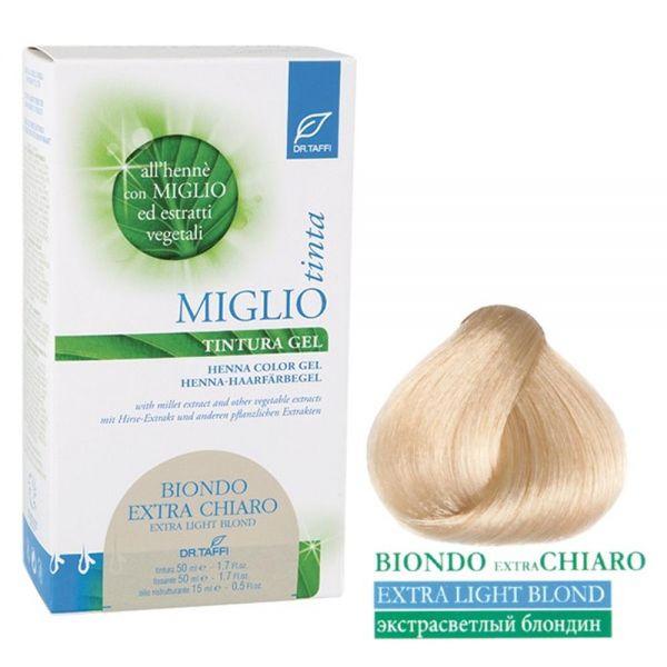 Henna-Haarfarbe Hellblond Extra - Migliotinta