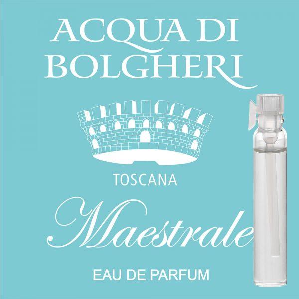 Eau de Parfum »Maestrale« - Acqua di Bolgheri - Probe 2ml