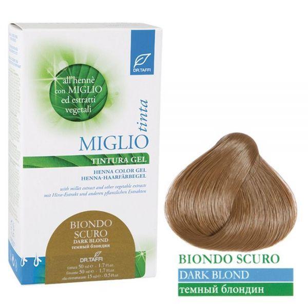 Henna-Haarfarbe Dunkelblond - Miglio Tinta