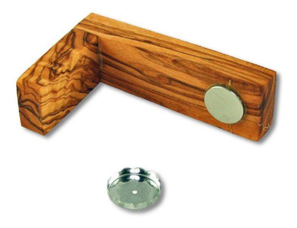 Magnetseifenhalter »Marco« aus Olivenholz