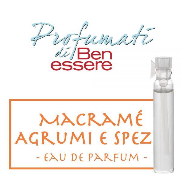 Eau de Parfum »Macramè Agrumi e Spezie« - Benessere Classic - Probe 2ml