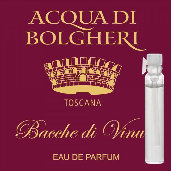 Eau de Parfum »Bacce di Vinum« - Acqua di Bolgheri - Probe 2ml