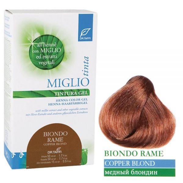 Henna-Haarfarbe Kupferblond - Miglio Tinta