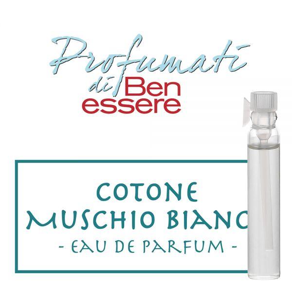 Eau de Parfum »Cotone Muschio Bianco« - Benessere Classic - Probe 2ml