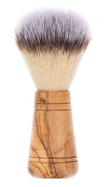 Rasierpinsel »Giovanni« mit Griff aus Olivenholz