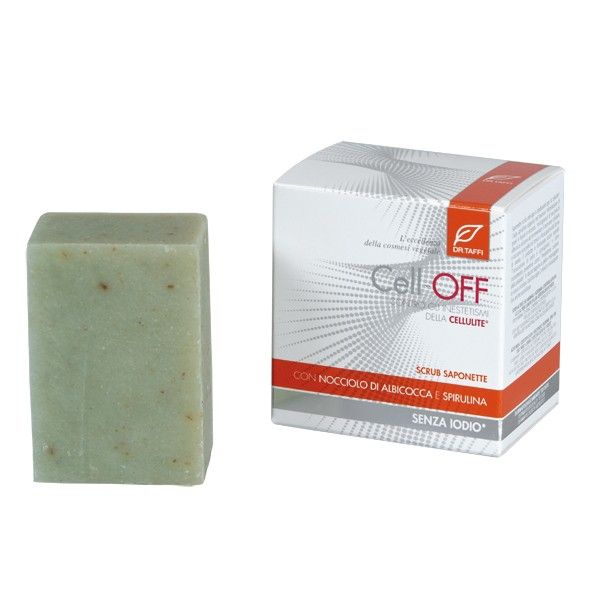 Peeling Seife ohne Jod, 2x150 Gr. - Cell OFF