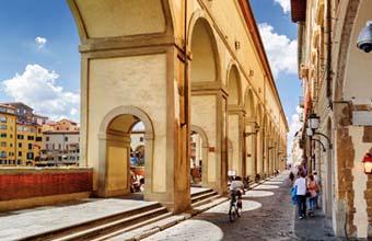 Florenz Vasari Korridor