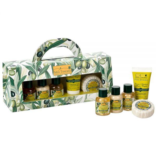 Kleine Geschenkbox 30ml Motiv Olive Prima Spremitura