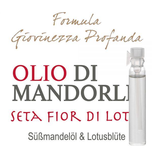 Süssmandelöl »Seta Fior di Loto« - Giovinezza Profonda - Probe 2ml