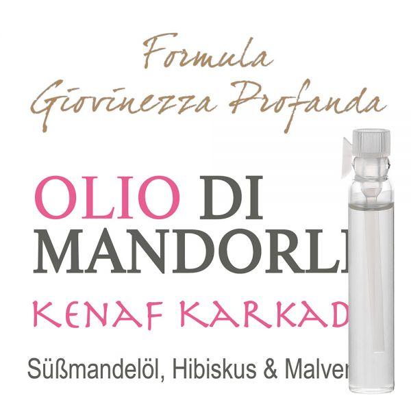 Süssmandelöl »Kenaf Karkade« - Giovinezza Profonda - Probe 2ml