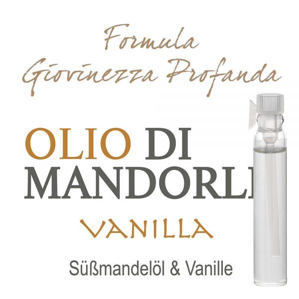 Süssmandelöl & Vanille - Giovinezza Profonda - Probe 2ml