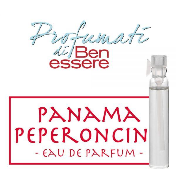 Eau de Parfum Panama Peperoncino - Benessere Classic - Probe 2ml