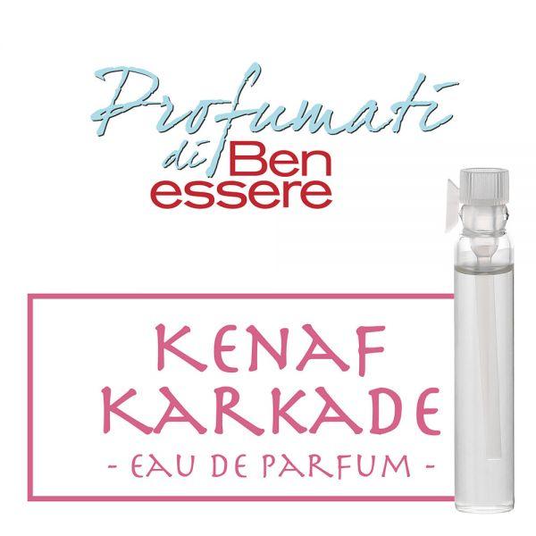Eau de Parfum »Kenaf Karkade« - Benessere Classic - Probe 2ml
