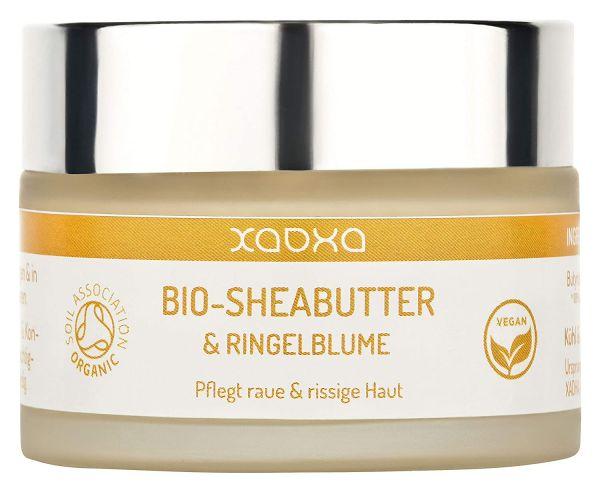 BIO Sheabutter & Ringelblume - Vegane Pflege für raue & rissige Haut