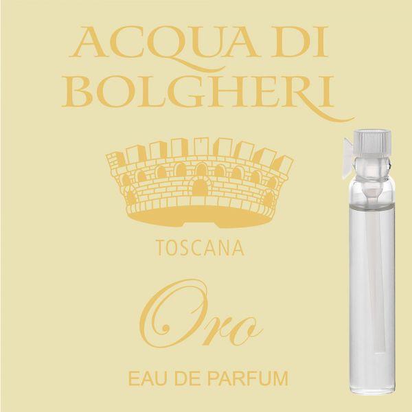 Eau de Parfum »Oro« - Acqua di Bolgheri - Probe 2ml