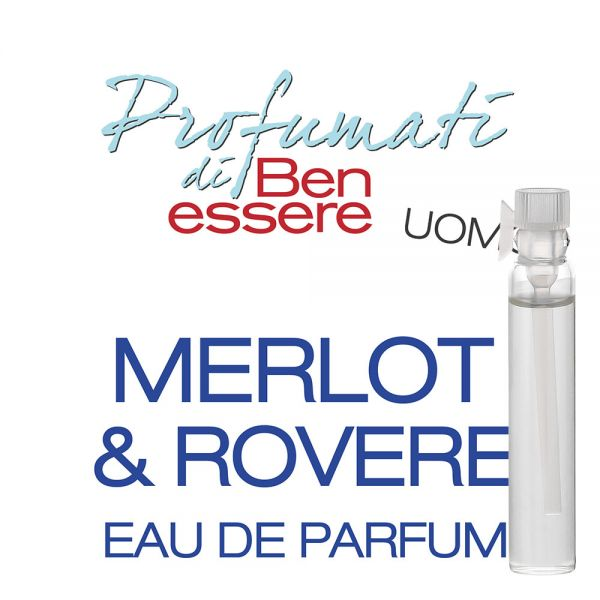 Eau de Parfum Merlot & Rovere - Benessere Uomo - Probe 2ml