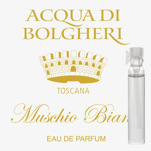 Eau de Parfum »Muschio Bianco« - Acqua di Bolgheri - Probe 2ml