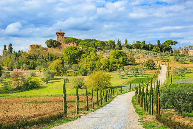 Agriturismo in der Toskana