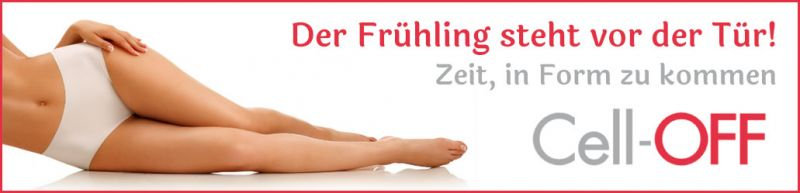 Cell-OFF gegen Cellulite