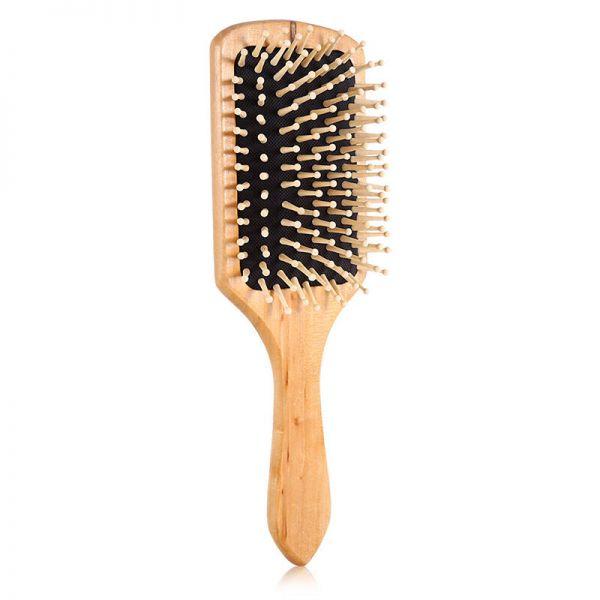 Haarbürste / Massagebürste aus Holz