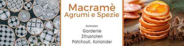 Macramè Agrumi e Spezie