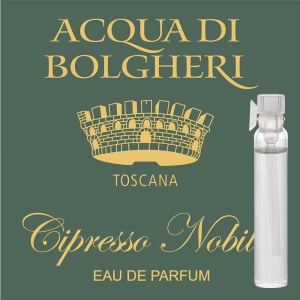Eau de Parfum »Cipresso Nobile« - Acqua di Bolgheri - Probe 2ml