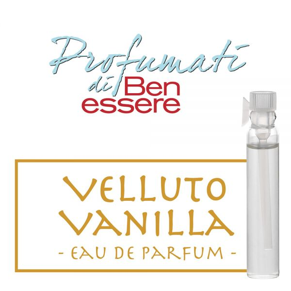Eau de Parfum »Velluto Vanilla« - Benessere Classic - Probe 2ml