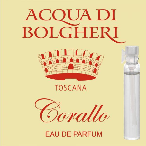 Eau de Parfum »Corallo« - Acqua di Bolgheri - Probe 2ml
